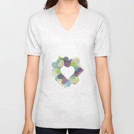 HEART HEART Unisex V-Neck
