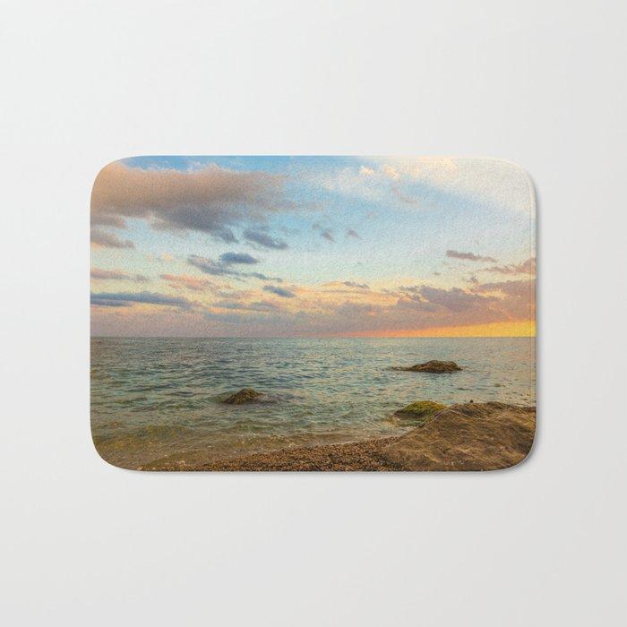 Gentle Sunset Bath Mat