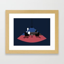 Midnight Feel Framed Art Print