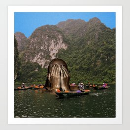 Trang An, Nihn Binh, Vietnam Art Print