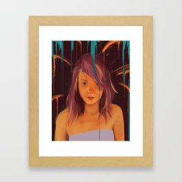 What are you drawing Ryan? // 150 Framed Art Print