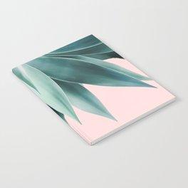 Agave fringe - blush Notebook