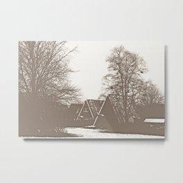 Tiny houses Metal Print