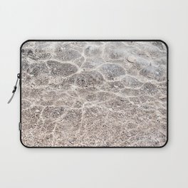 Clear sea with sun reflections Laptop Sleeve