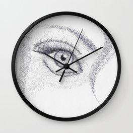 Wordplay Wall Clock