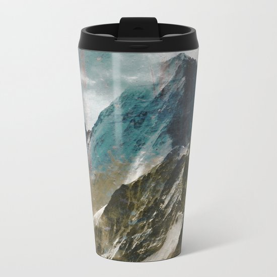 MOUNTAIN Metal Travel Mug