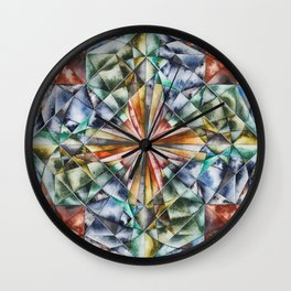 earth star Wall Clock