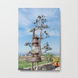 old lamp oil Metal Print