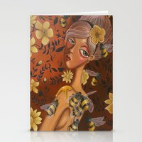charmaine Stationery Cards featuring Queen Bee by Charmaine D'Silva