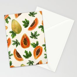 Papaya Punch Stationery Cards