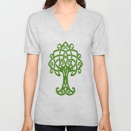 Tree Of Life Celtic Art Knot Unisex V-Neck