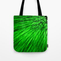 emerald Tote Bags featuring Emerald by Simply Chic