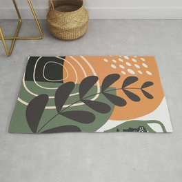 Abstract tropical element Rug