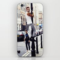 liam payne iPhone & iPod Skins featuring Liam Payne by Becca / But-Like-How