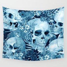 tropic skull Wall Tapestry