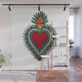 Mexican Heart Wall Mural