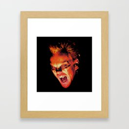 The Lost Boys David Stained Glass Framed Art Print