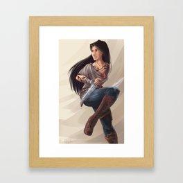 Isabelle Lightwood Framed Art Print