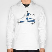 nike Hoodies featuring Nike Air Flight  by GRIB'