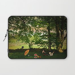 Come Share a Picnic Laptop Sleeve