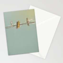 Vintage Clothespin Stationery Cards
