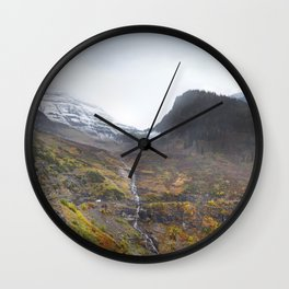 Going to the Sun Road Wall Clock
