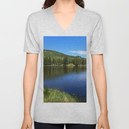 A Glorious Morning In The Rockies Unisex V-Neck