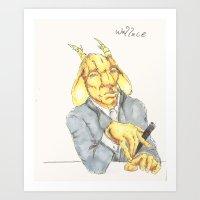 Wallace Art Print