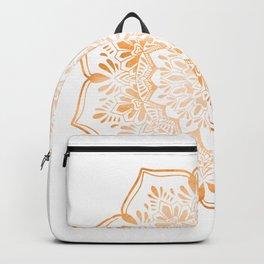 Copper Mandala Henna Inspired Backpack