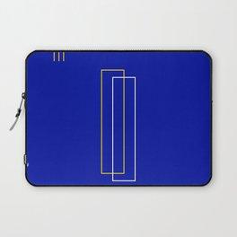 Blue Door Abstract Laptop Sleeve
