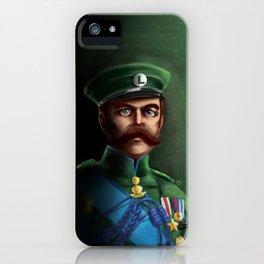Lieutenant Luigi iPhone Case