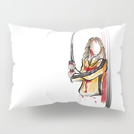 Beatrix Kiddo Pillow Sham