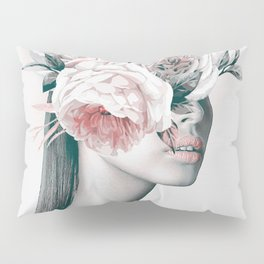 WOMAN WITH FLOWERS 11 Pillow Sham