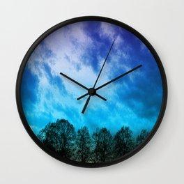 Skyscape Wall Clock