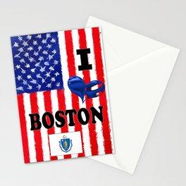 I Love..........Boston Stationery Cards