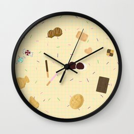 Sweets Galore Wall Clock