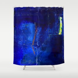 Into The Blue No.3a by Kathy Morton Stanion Shower Curtain