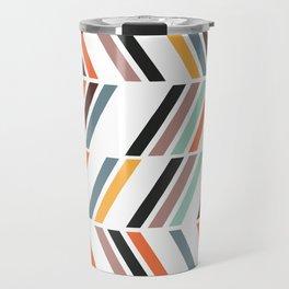 Scandinavian Domino Travel Mug