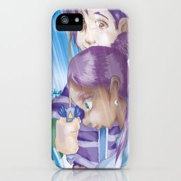 Gaming in the Rain iPhone Case