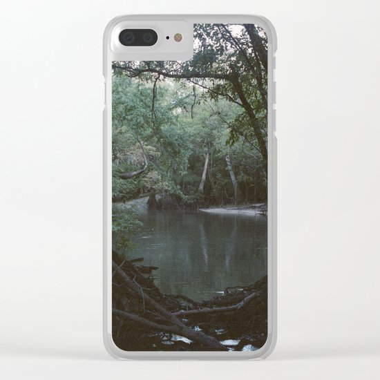 Drabby Swampy Creek Clear iPhone Case