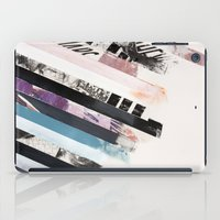 stripes iPad Cases featuring STRIPES  by Brandon Neher