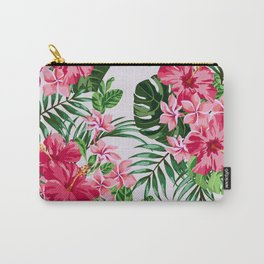 Green Tropical Mood Carry-All Pouch