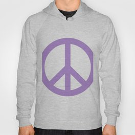 Peace (Lavender & White) Hoody