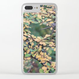 New York Nature V Clear iPhone Case