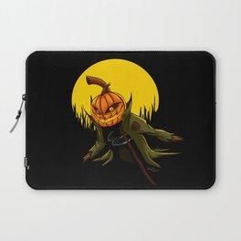 Pumpkin scarecrow Laptop Sleeve