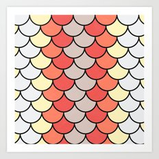 Slice of Bright Art Print