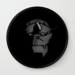 Big Metal Wall Clock