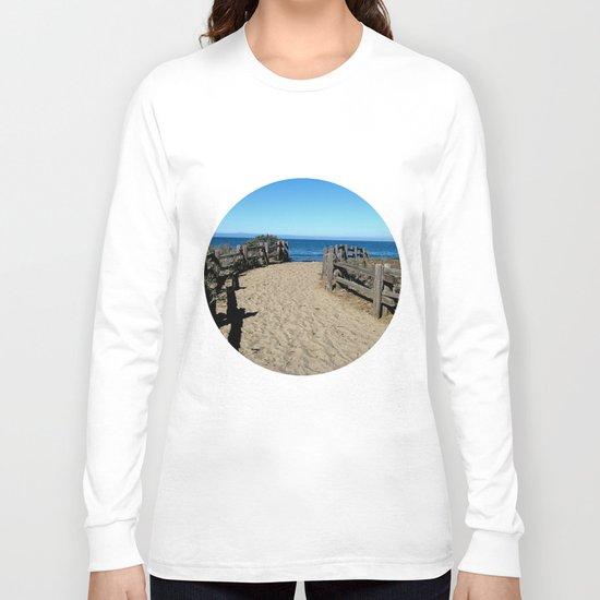 Footprints to the Beach Long Sleeve T-shirt