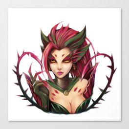 Zyra: The rise of the Thorns Canvas Print