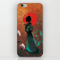 japan iPhone & iPod Skins featuring Japan by Ludovic Jacqz